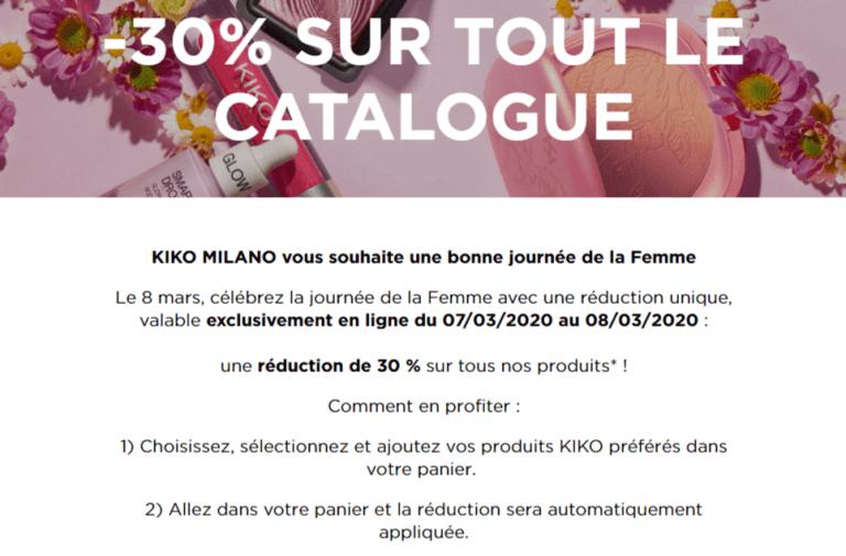 Kiko Cosmetics : leur vision de la journée de la femme en 2020