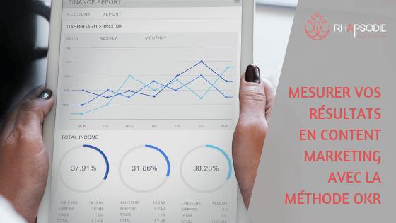 Mesurer vos résultats en content marketing avec la méthode OKR