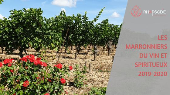 Les marronniers du vin et des spiritueux 2019